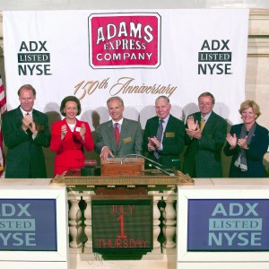 Adams Express at New York Stock Exchange